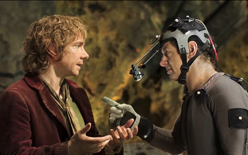 hobbit acting with gollum