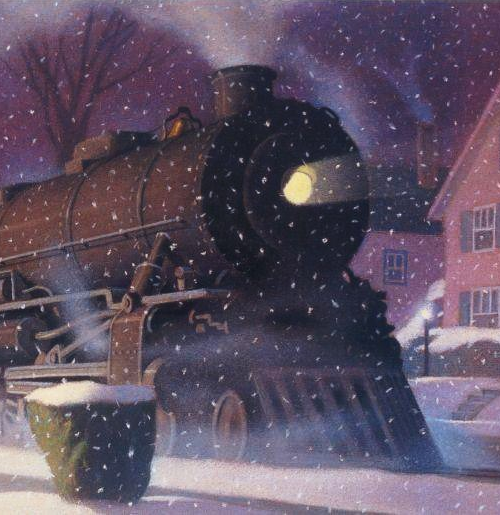 Train Illustration By Chris Van Allsburg