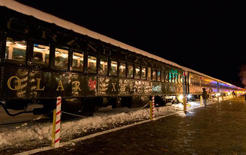Polar Express Train in Real Life
