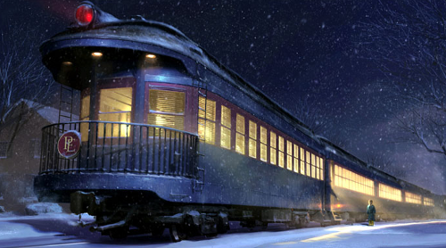 Train from the movie The Polar Express