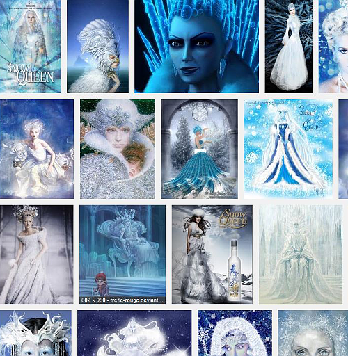 Google Image search for snow queen